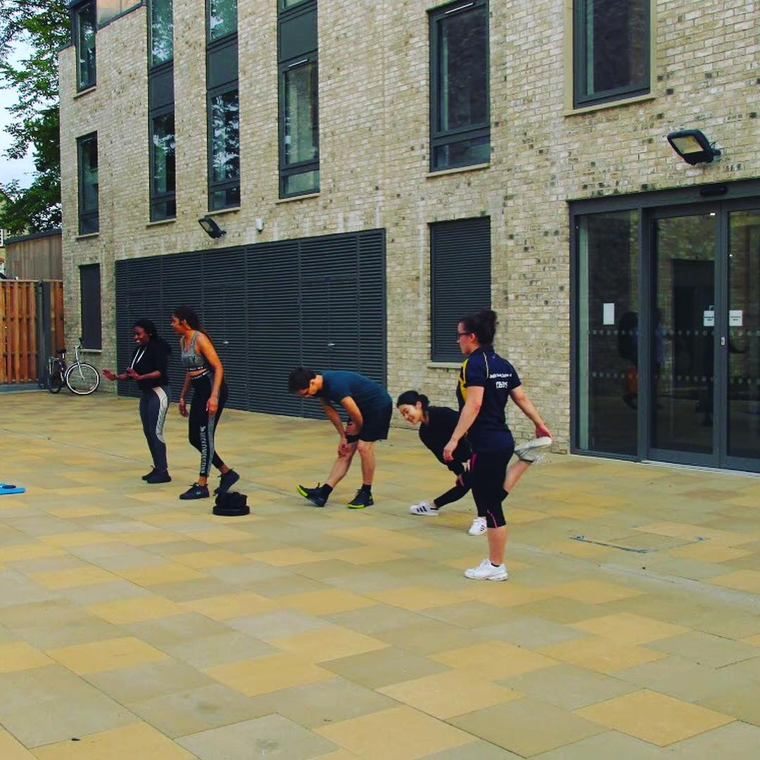 #FlashbackFriday to our #FitnessFriday at #TheCamFoundry  Who's getting active this weekend?  #active #fitness #cambridge #student #apartofthecamfoundry #apartofyourstory #studentaccommodation