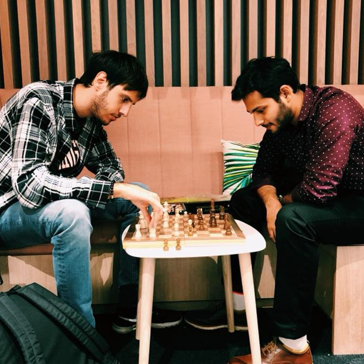 Our social spaces are great for chilling out with friends, relaxing or playing a game of chess! 😀 #apartofbecketthouse